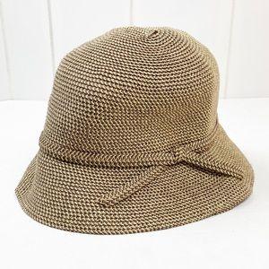 Tweed Vegetable Fiber Bucket Hat